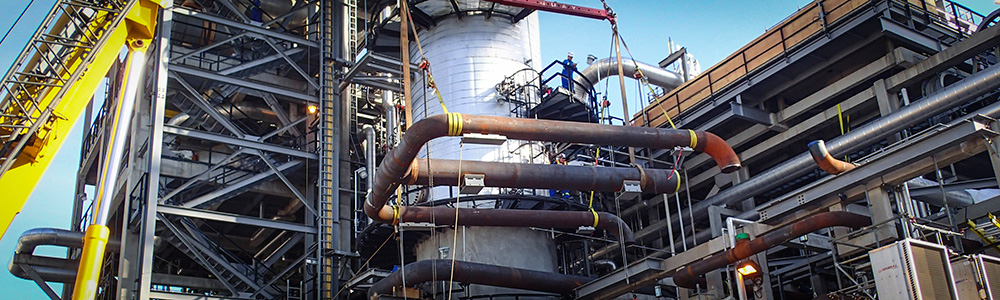 Chemicals and petrochemicals market - Industrial construction
